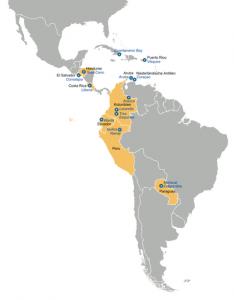 Amerikanische Militärstützpunkte in Südamerika