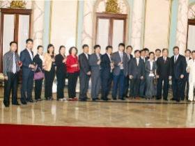 Dominikanische und Vietnamesische Delegation