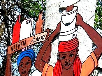 Haitianische Bevoelkerung
