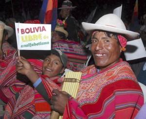 analphabet bolivien