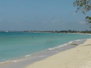 strand karibikinsel