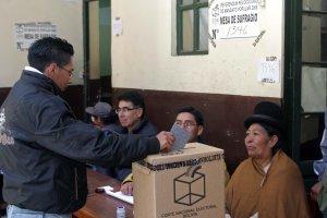 wahlen bolivien