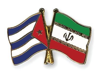Freundschaftspins-Kuba-Iran