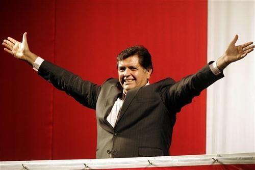Alan Garcia-Präsident Peru