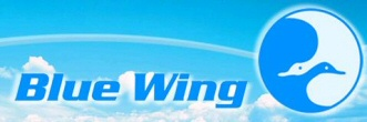 Blue Wing Airlines Logo