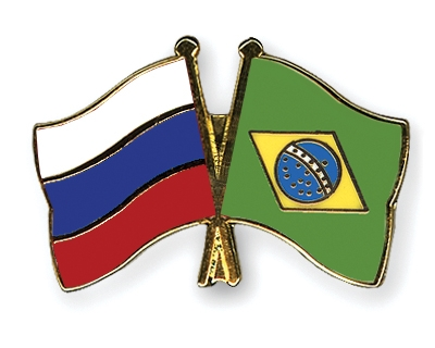 Russland-Brasilien