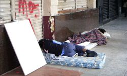 Obdachlose Buenos Aires