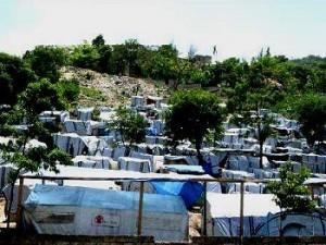 Haiti Zeltlager