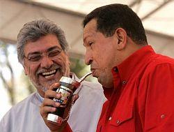Fernando Lugo, Hugo Chavez