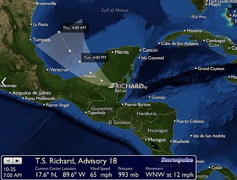 tropensturm richard