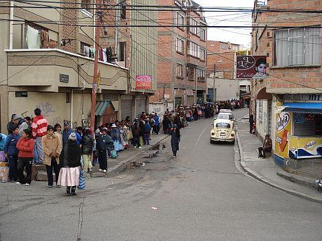 Benzinpreiserhöhung in Bolivien