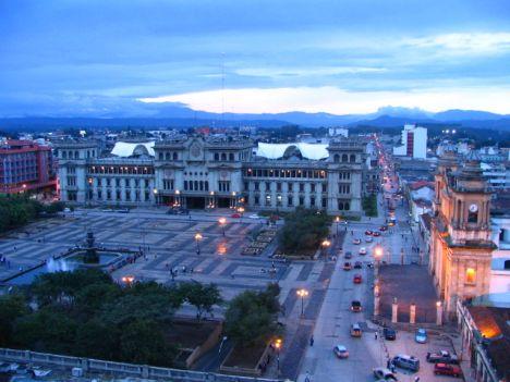 Guatemala-city-central-park