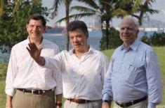 Juan Manuel Santos, John McCain, John Barroso