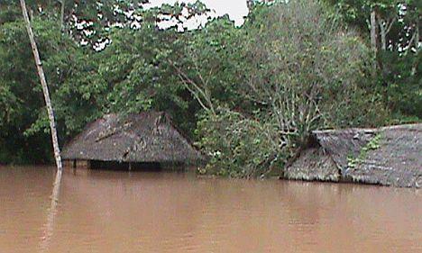 überschwemmungenperu