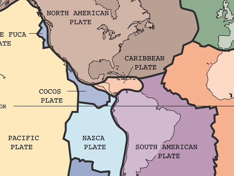 karibische Platte
