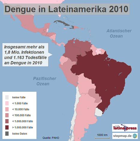 dengue-lateinamerika