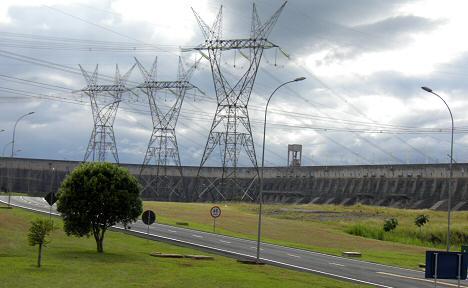 Kraftwerk Itaipu - Brasilien Paraguay