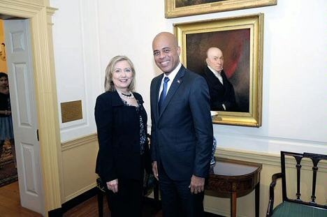 martelly-clinton