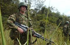 soldat-kolumbien