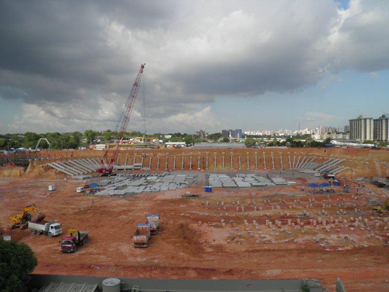 Stadion in Manaus