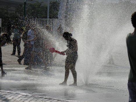 Erfrischung bei Rock in Rio 2011