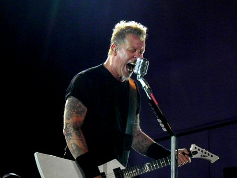 Metallica Frontmann James Hetfield