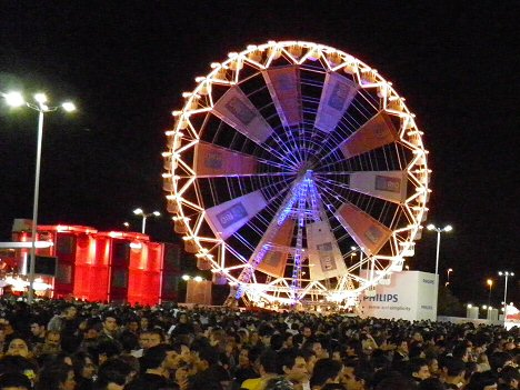 Riesenrad in der Cidade do Rock