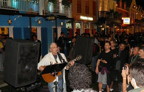 Rock Street in der Cidade do Rock