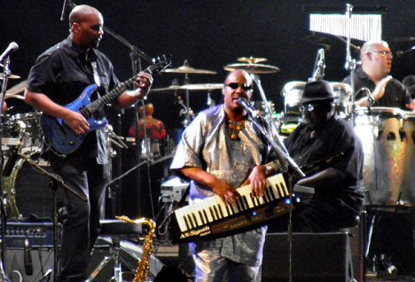 Stevie Wonder bei Rock in Rio