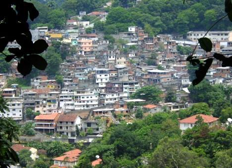 Favela in Brasilien