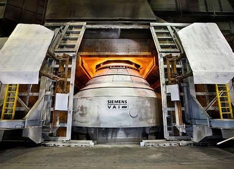 Auftrag von Altos Hornos de Mexico: Siemens bringt LD-Konverter