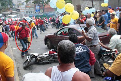 chavista mob