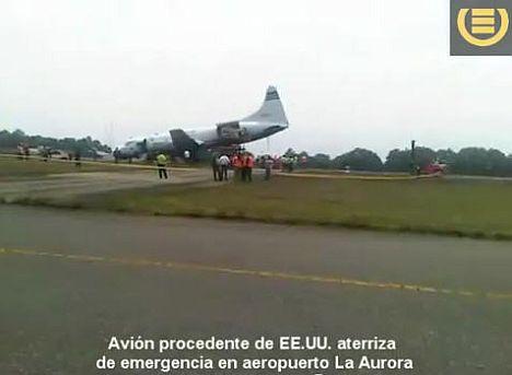 emergencia en aeropuerto