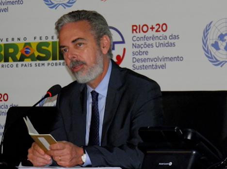 Brasiliens Aussenminister Patriota (Foto: Dietmar Lang / IAPF)