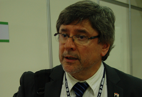 Paraguays Umweltminister Oscar Rivas (Foto: Luiz Ferreira)