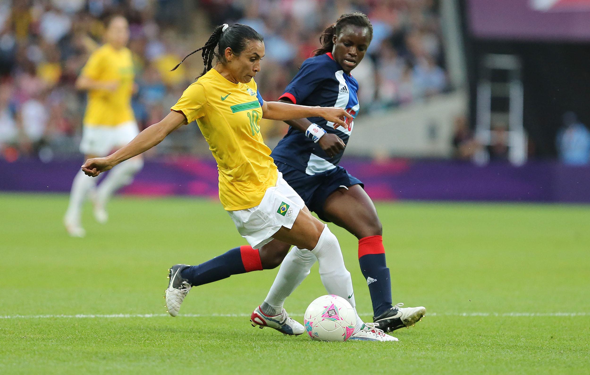 Londres 2012, Futebol Feminino