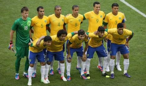 Brasilien im Spiel gegen Ägypten | Foto: Ricardo Stuckert / CBF