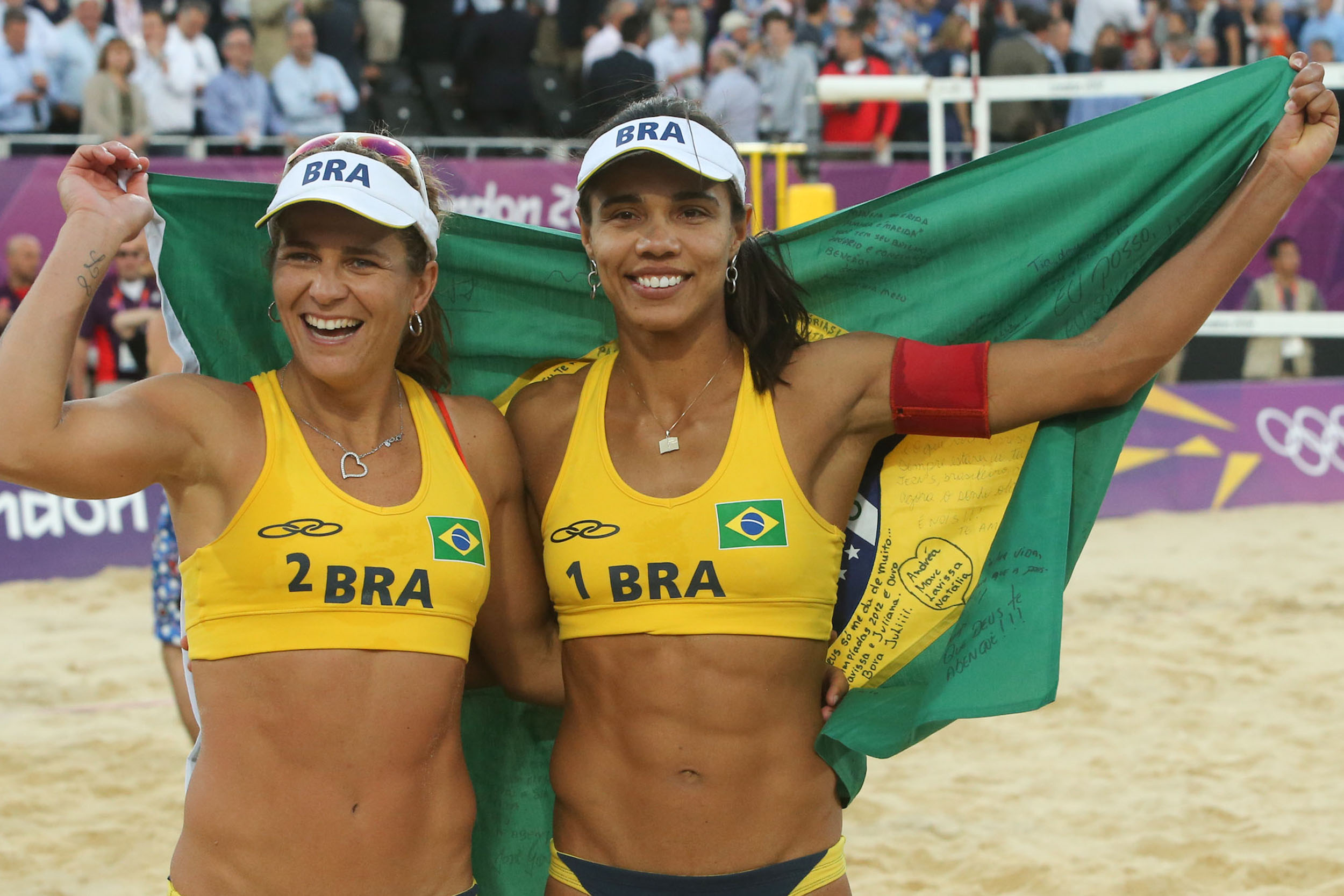 Londres 2012, Beach-Volleyball Bronze