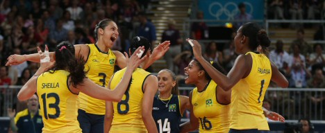 brasilien volleyball damen