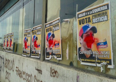 capriles-plakat