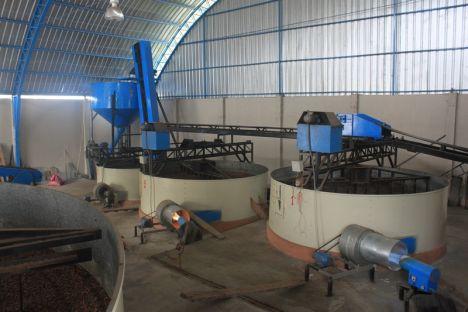 Trockenanlage für Kakao