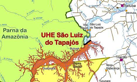 Barrage de São Luiz do Tapajós