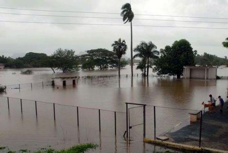 CUBA-NUMEROSAS INUNDACIONES EN PINAR DEL RÍO POR INTENSAS LLUVI
