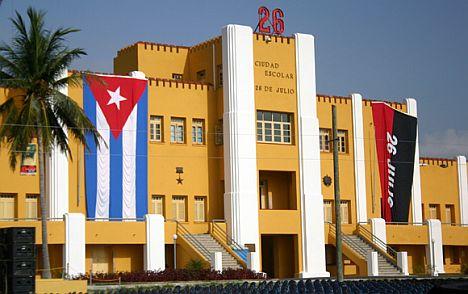Moncada-Kaserne in Santiago de Cuba