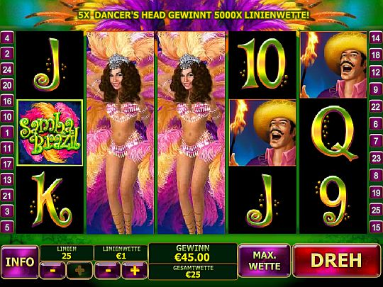 Screenshot Samba-Casino