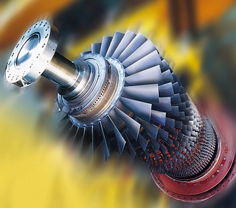 Gasturbine SGT5-4000F / Gas turbine SGT5-4000F