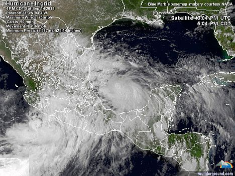 Hurrikan Ingrid
