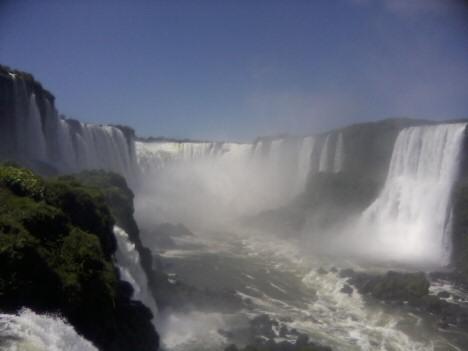 Die Wasserfälle von Iguaçu (Foto: Dietmar Lang / IAP Photo)