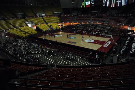 VENEZUELA-ENERGY-BLACKOUT-BASKETBALL-QUALIFIERS