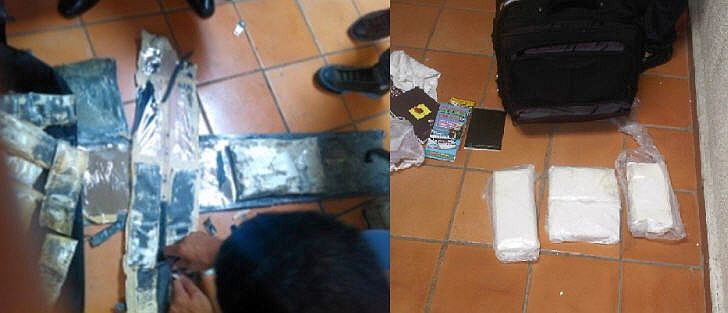 Drogenfund auf dem Flughafen in Punta Cana